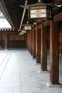 Lanterns Tokyo Temple